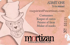 Flyer Design : Mortizan Costumiers 2010